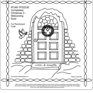 TP3223E-Completely-Christmas Door