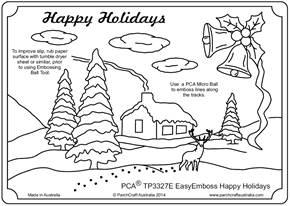 PCA-TP3327E-Christmas-Happy-Holidays