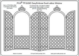 PCA-TP3329-Dual-Lattice-Window