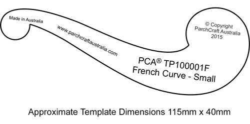PCA-TP100001F-French-Curve-Plain-Small