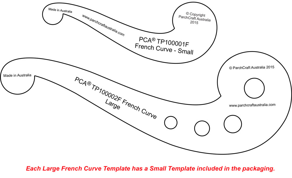 tp100002f double pack french curves parchment worldwide