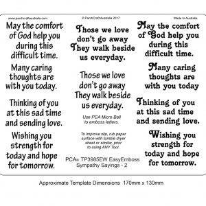 TP3985EW sympathy sayings 2 BW