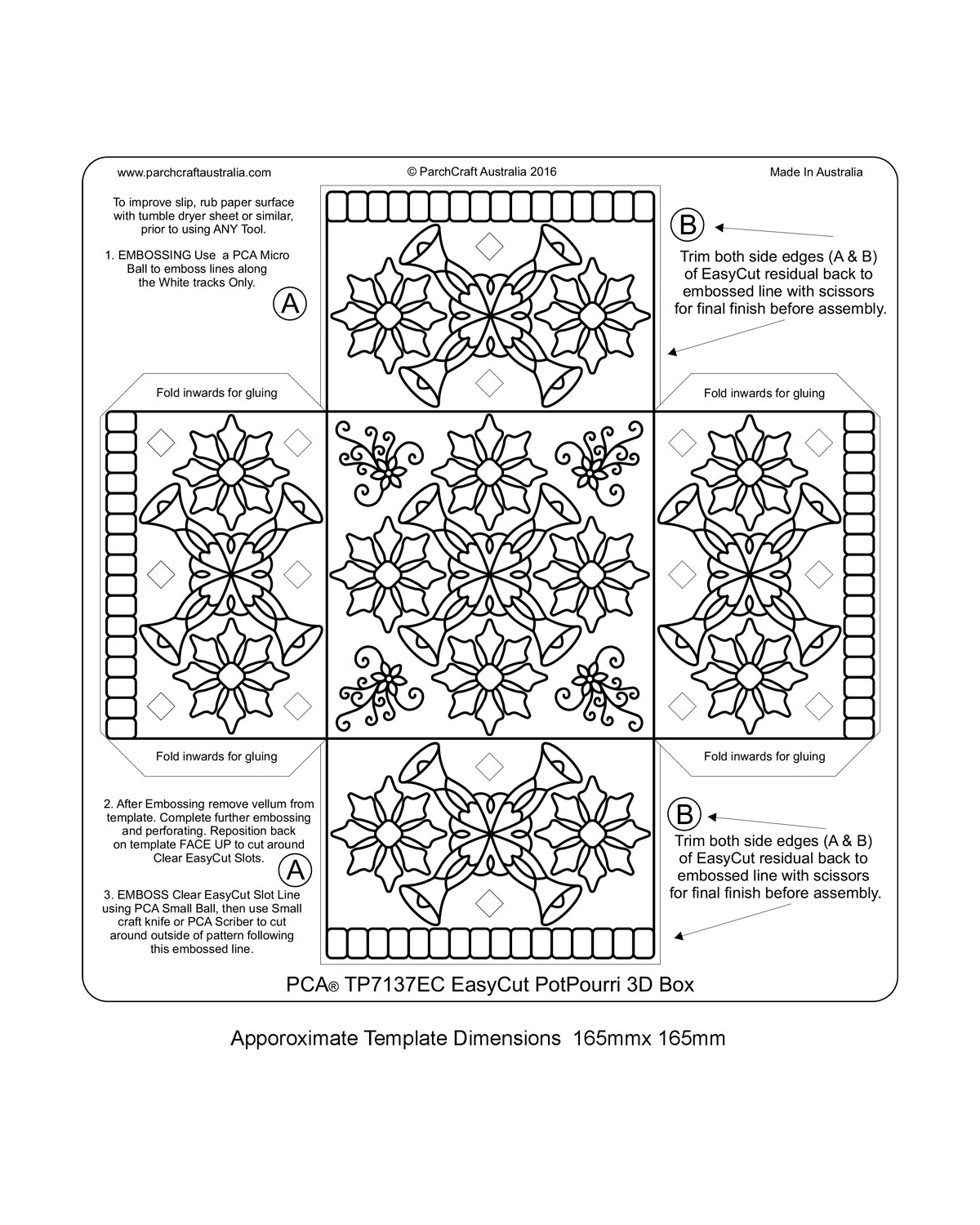 Easy Cut Templates Archives - Page 2 of 2 - Parchment Worldwide