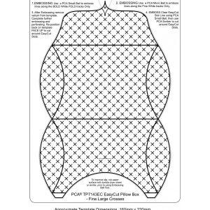 TP7143EC pillow box lrg crosses