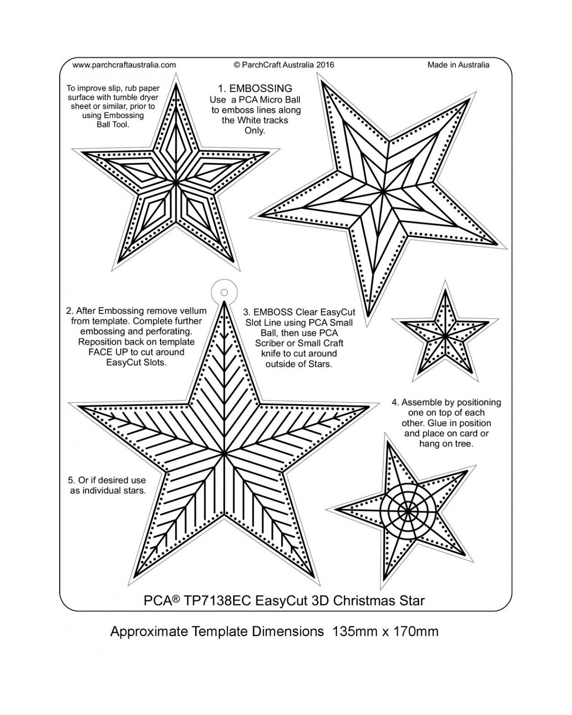 Tp7138ec Easycut Christmas Star