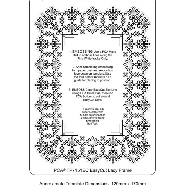 TP7151EC Easycut Lacy Frame