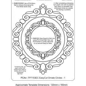 TP7153EC-easycut Ornate Circle Frames 1