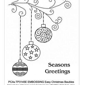 TP1345E Christmas Baubles