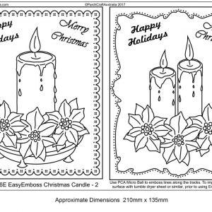 TP3436E Christmas Candle -2