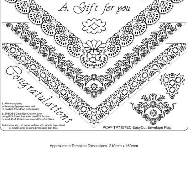 TP7157EC envelope flap