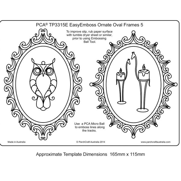 TP3315E Ornate Ovals - 5