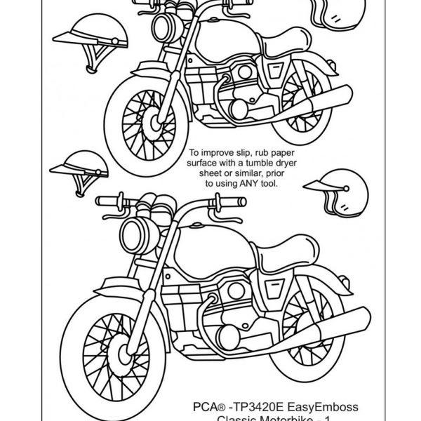 TP3420E Classic Motorbike