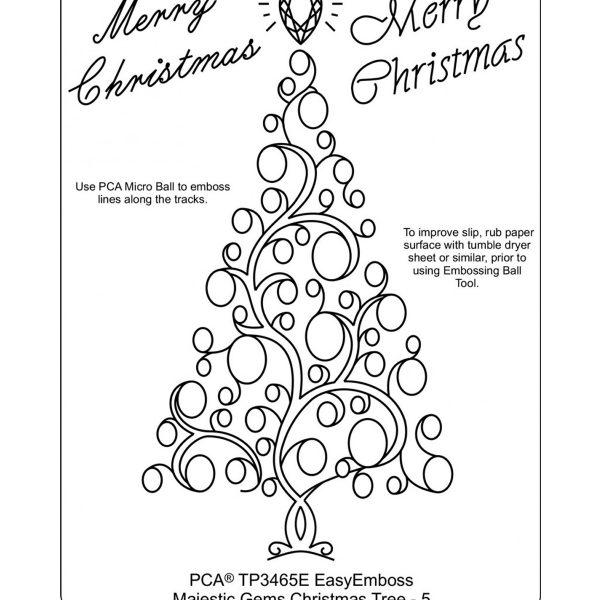 TP3465E Christmas Gems Tree 5