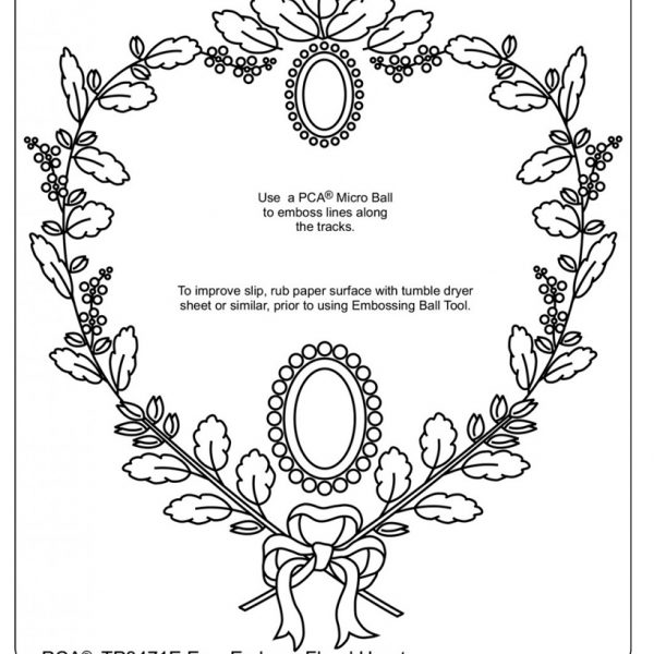 TP3471E Floral Hearts