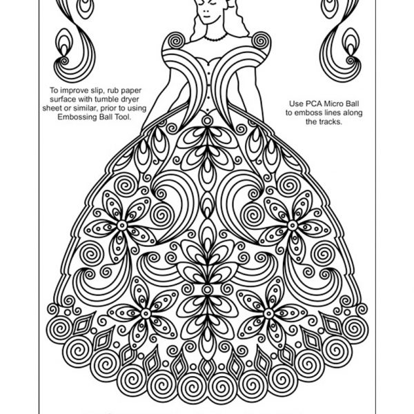 TP3485E Quilled Princess
