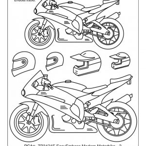 TP3421E Modern Motorbike