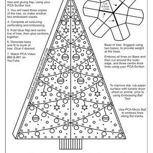 TP3508E - Christmas Tree 3D