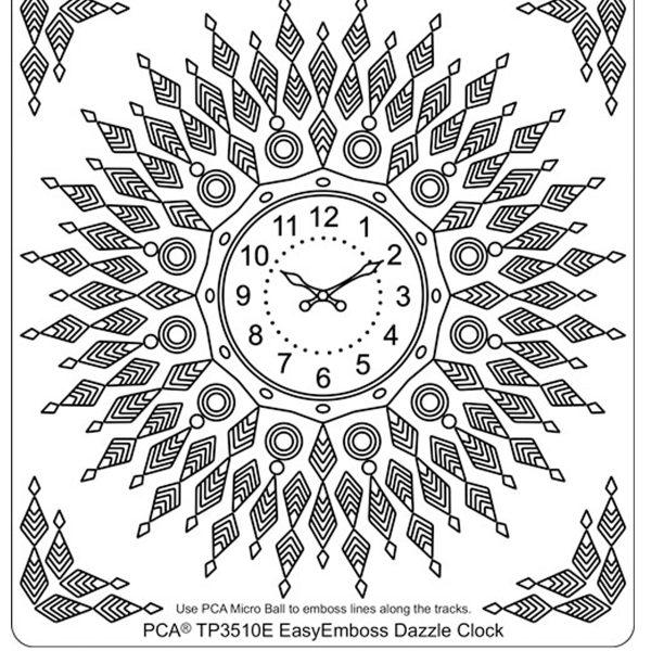 TP3510E Dazzle Clock