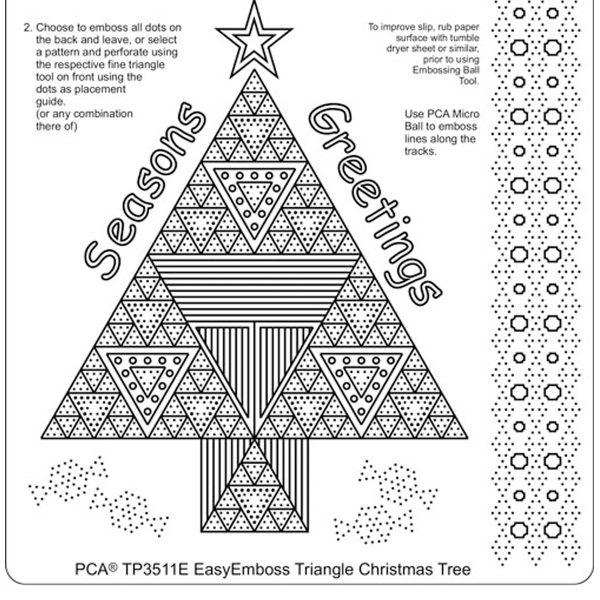 TP3511E Triangle Christmas Tree