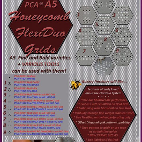 TP4012DHA5 A5 HoneyComb Flexi Duo Grid