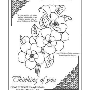 TP3542E Simply flowers 13