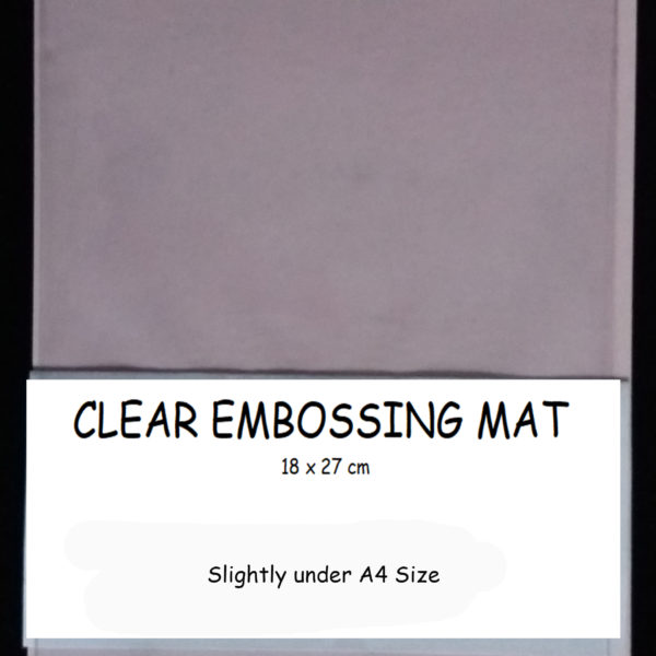 Small Clear Embossing Mat