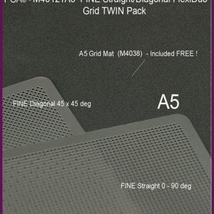 M4012TA5 Fine A5 Straight-Diagonal