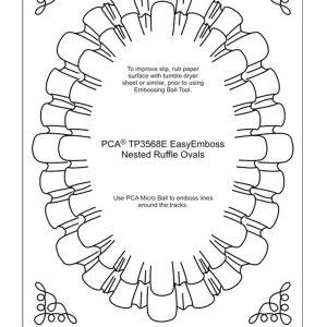 TP3568 Ruffles Ovals